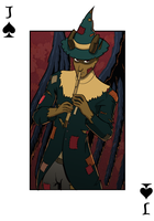 Jack of Crows, Jack of Spades by djinnborn
