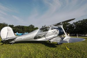 Beech E17B Staggerwing by arejaye