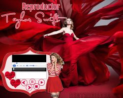 Reproductor de musica ejecutable: Taylor Swift by Cursorsandmore