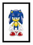 Pissed Off Sonic Colored by funkyjeremi