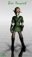 [MMD Newcomer] Ben Drowned v 0.1 Model Download by TheNamelessHolocaust
