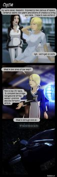 Mass Effect Comic 'Cycle' by Badspot