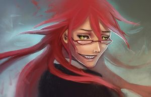 wip: GRELL SUTCLIFF by dream-cup