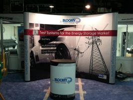 Bloomy Energy Systems booth by SpiralAlchemist
