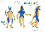 Cas Anthro Ref by EagleIronic