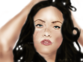 Megan Fox by xDrew23x