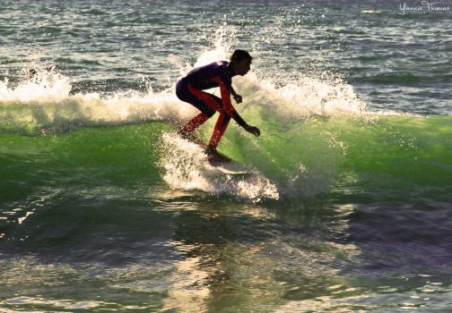 Surfer by Ishmakey