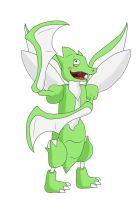 It's Scyther! by Froodals