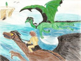 Dragonriders Light and L by plannedbyreaperLight