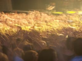 sea of people by ibartley