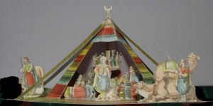 Tente Arabe - Arabian Tent - papercraft by SarienSpiderDroid