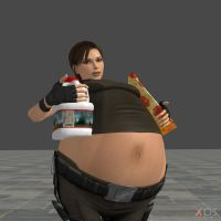 Fat Lara 5 by FatAliceBelly