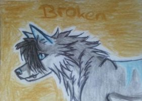 .::ACEO gift for DarkBroken.:: by Snowstorm-wolf