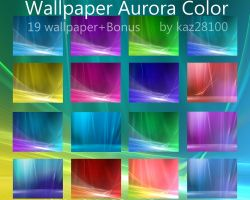 Aurora color pack by kaz28100