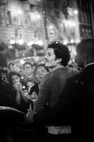 Orlando Bloom. Crowdsurfer. by Staged