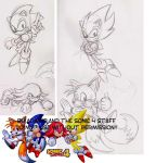 Sonic 4- characters by adamis