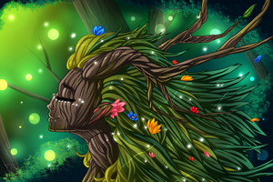 Dryad by Yami-Child