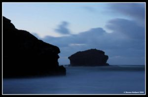 A Rocky Silhouette by Kernow-Photography