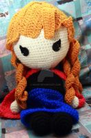 Frozen: Anna Crochet Doll by Nissie