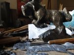 Horse in progress2 by woodcarve
