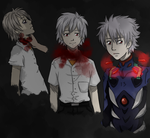 kawo kawo kaworu by Potionic