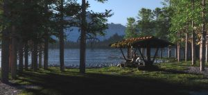 By the Lake by devans88