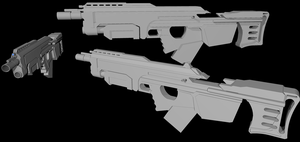 New Rifle Concept by Jon-Michael-May