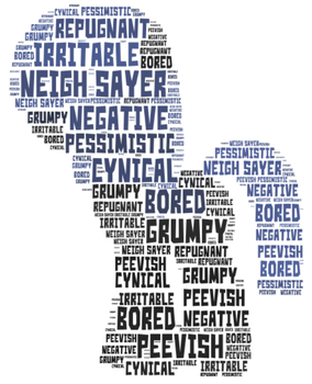 Word Cloud Commission: Neigh Sayer by queendagi