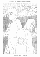Ch 445 Cover Outlines by KujaEx