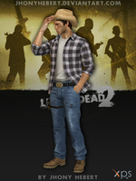 Cowboy Ellis - Left 4 Dead 2 by JhonyHebert