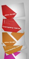 Simple Business Card Set by Freshbusinesscards
