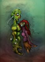 Zombie Luv by NikoGrimwords