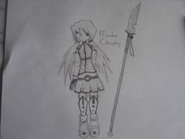 OC for tales of symphonia sketch by Jenssiej