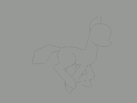 Galloping horse animation by Fahu