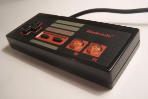 NES custom controller by Clankzappah