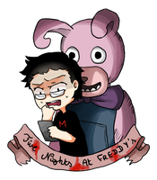 Markiplier : Five Nights at Freddy's by Reikiwie