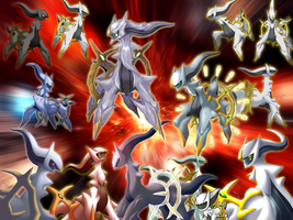 Arceus: All Together II by Xous54