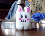 the square bunny O_o by twenschemering