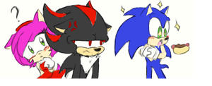 Sonic Character Doodles by poe76