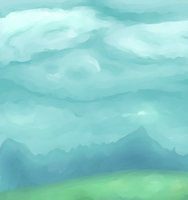 Some clouds by QueenAbibi