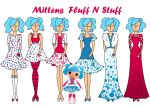 fashion commision: Mittens Fluff N Stuff by Willemijn1991