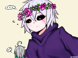 [Elsword AddAin] Please dont eat me by LightAppend