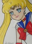 Sailor Moon ACEO manga style 2 by LadyNin-Chan