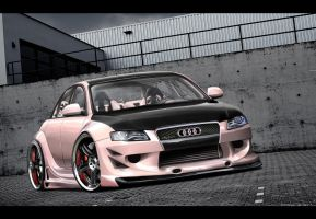 Audi A4 by Little-Nemesis