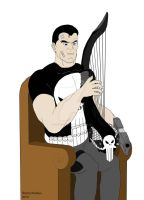 The Punisher - My Gun, My Harp, and Me by OwossoHarpist