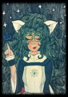 :Witch of Space: by sabrynaM
