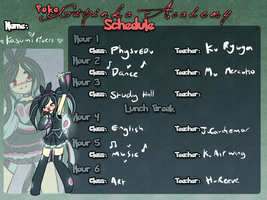 PGA: Kasumi Rivers Schedule by Blazin-Hearted
