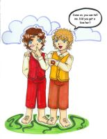Merry and Frodo -baggins0716- by hobbit-katie
