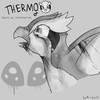 First Nuzlocke Death: Thermo by Smudgeful-Thinking