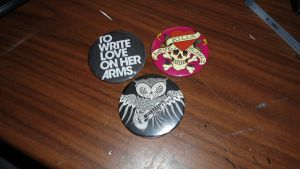 favorite button pins by RaheHeul